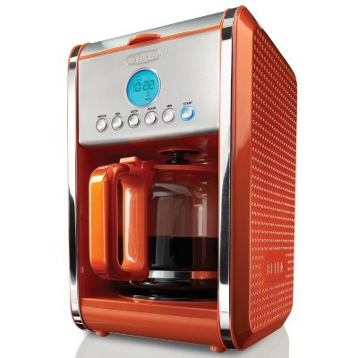 Bella Coffee Maker Filter Size : Bella Dots 12-Cup Coffee Maker - Orange SamsClub.com Auctions