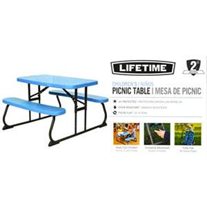 Lifetime Kids Picnic Table Blue Samsclub Com Auctions