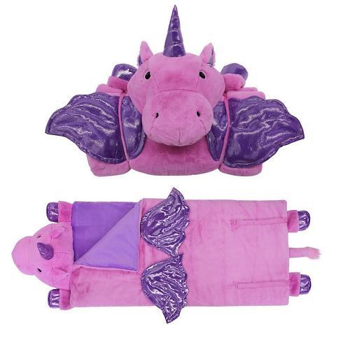 Animal Adventure Sleeping Bag Purple Unicorn