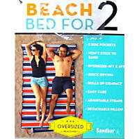 Member's Mark Beach Bed for Two (Red, White & Blue)
