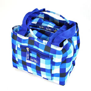Nicole Miller Insulated Lunch Tote With 3 Pc Food Storage