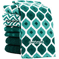 Cuisinart Kitchen Towels, 8 Pack - Peacock
