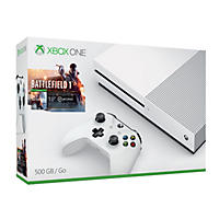 Xbox One S 500GB Battlefield 1 Console Bundle