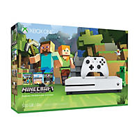 Xbox One S 500GB Minecraft Favorites Console Bundle