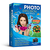Photo Explosion Deluxe 5.0 with Scrapbook Factory Deluxe 5.0