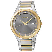 Solar Two Tone Men's Seiko Watch