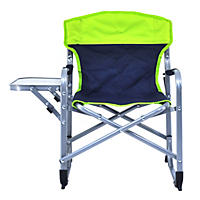 Kid's Director's Chair - Green and Blue
