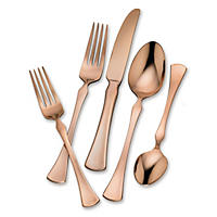 Tomodachi Refined Copper 20-Piece Flatware Set