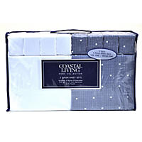 Queen - Extra-Soft Brushed Microfiber 12-Piece Sheet Set, White