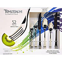 Tomodachi 52-Piece Flatware Set
