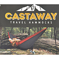 Castaway Travel Hammock Red