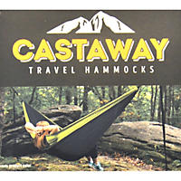 Castaway Travel Hammock Lime Green