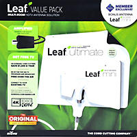 Mohu Leaf Ultimate 65 and Leaf Mini Plus 2 Pack Bundle