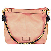 G.H. Bass & Co. Hampton Collection Hobo Bag Blush