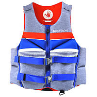 Men PFD Body Glove Large, Red/Blue/White