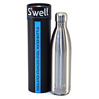 S'well 25 oz. Stainless Steel Water Bottle, Silver Lining