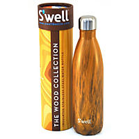 S'well 25 oz. Stainless Steel Water Bottle, Teakwood
