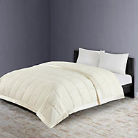 Member's Mark Down Alternative Blanket Full/Queen, Ivory
