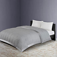 Member's Mark Down Alternative Blanket Full/Queen, Grey