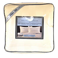 Hotel Luxury Reserve Collection 4-Piece King Comforter Set, Ivory