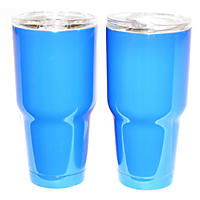 Member's Mark 30 Oz Colored Tumbler 2 Pk, Dark Blue