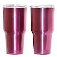 Member's Mark 30 Oz Colored Tumbler 2 Pk, Purple