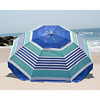 Nautica Beach Umbrella, Blue