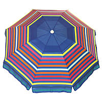 Nautica Beach Umbrella, Stripe
