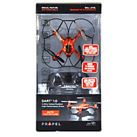 Propel Dart Palm Size Drone, Red