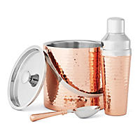 Member's Mark 3-Piece Barware Set, Hammered Copper