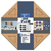 Style Blocks 30Pc Board Value Set, Blue