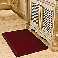 "Norsk 20"" x 39"" Anti-Fatigue Mat, Burgundy"