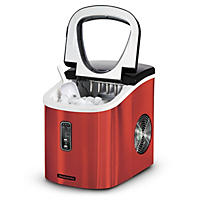 Tramontina Stainless Steel Ice Maker, Red