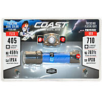 Coast Headlamp/Flashlight Combo Pack