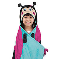 Best Brands Kids Hooded Throw, Ladybug