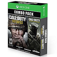 (Free Shipping) Call Of Duty WWII/Infinite Warfare Bundle XB1