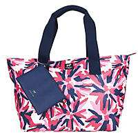 Dabney Lee Carryall Tote Set Pink Flower