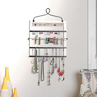 Hives & Honey Accessory Frame Jewelry Organizer, White
