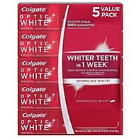 Colgate Optic White Toothpaste 5 oz., 5 Pk