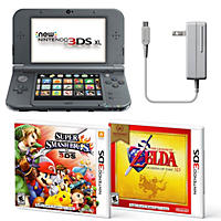(Free Shipping) Nintendo 3DS XL Bundle