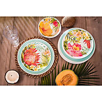 18-Piece Melamine Dinnerware Set