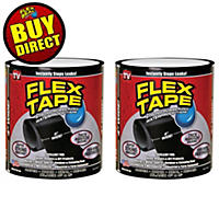 Flex Tape 2 Pk, Black