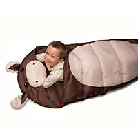 Kid's Animal Outdoor Sleeping Bag, Moose