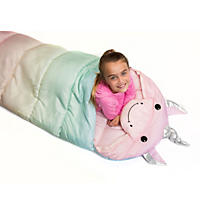 Kid's Animal Outdoor Sleeping Bag, Unicorn