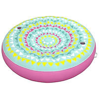 5 Ft Medallion Float, Pink