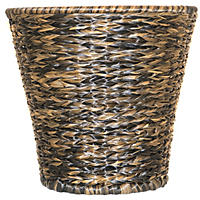 Wicker Basket, Dark Brown