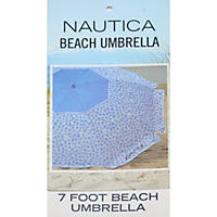Nautica Beach Umbrella, Blue Dots