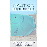 Nautica Beach Umbrella, Teal