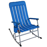 Member's Mark Portable Rocking Chair, Blue