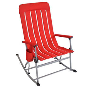 Member's Mark Portable Rocking Chair, Red